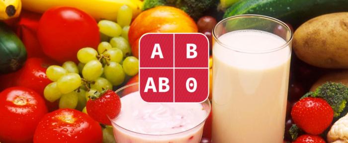 App Dieta Gruppo sanguigno