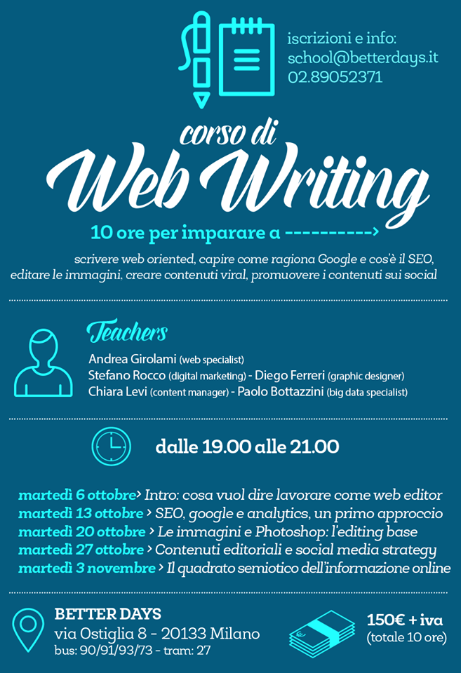 Corso Web Writing